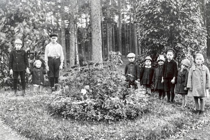 Barn på Gerdahemmet i Åby utanför Norrköping