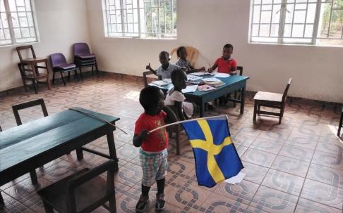 skola, förskola, afrika, sierra leone, hjälparbete, hjälporganisation, fvbu, norrköping