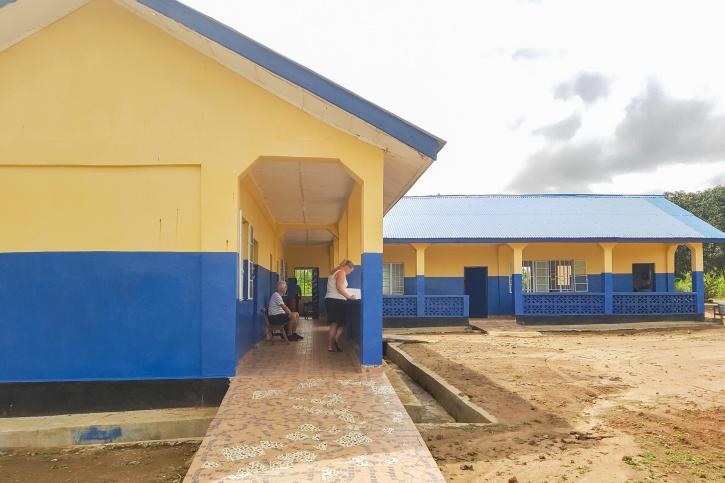 fvbu, hjälpverksamhet, sierra leone, bygga skola, förskola
