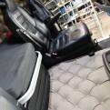 Motortäcke passar Scania R knappstoppat - Komplett set motortäcke/golvmattor
