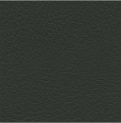 Komplett set sidogardiner/framrutekappa i skinn - Svart med frans-Black with fringe