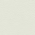 Komplett set sidogardiner/framrutekappa i skinn - Vit utan frans - White