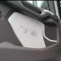 Dörrsidor passar Scania Next Generation slätklädda