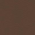 Komplett set sidogardiner och framrutekappa i skinn med brodyr - Brun utan frans - Brown