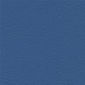 Komplett set sidogardiner och framrutekappa i skinn med brodyr - Blå utan frans - Blue