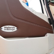 Dörrsidor passar Volvo FH4 slätklädda