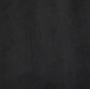 Sidogardiner i Mocka med Brodering - Svart mocka - Black