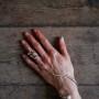 Armbandsring sötvattenspärlor - Armbandsring