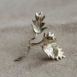 Växt örhängen