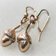Guldekollon örhängen