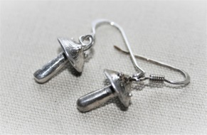 Silver svampar små -