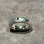 Silverring med svart diamant