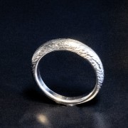 Silverring mönster