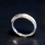 Silverring mönster