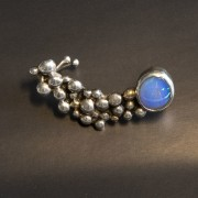 Örhänge bubblor Opal