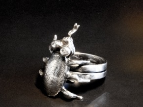 Skalbagge som ring - Skalbagge ring