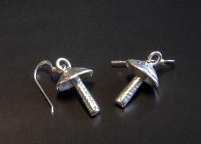 Silversvamp halsband - Svamp halsband