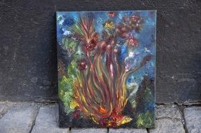 Olja explosion -