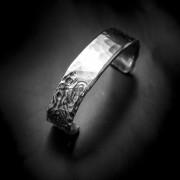 Silverarmband med motiv