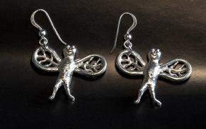 Flugor örhängen -