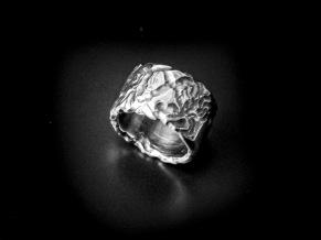 Silverring natur -