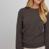 Basic Sweater dark brown - Basic Sweater XL