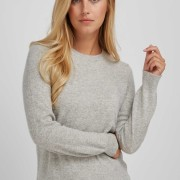 Basic Sweater light grey