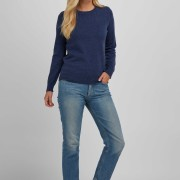 Basic sweater denim blue
