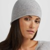 Raw edge cap, flera färger - Raw edge cap light grey