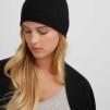 Raw edge cap, flera färger - Raw edge cap black