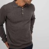 Man collar - Man collar dark brown XL