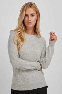 Basic Sweater light grey - Basic Sweater light grey M
