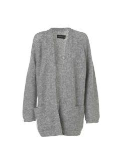 Belinta cardigan, flera färger finns - Belinta cardigan grey melange XS