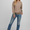Boat Neck Sweater sand - Boat Neck sweater sand M
