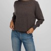 Boat Neck Sweater dark brown - Boat Neck sweater dark brown XL