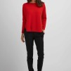 Curved Sweater red
