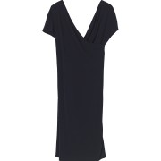 Crepe dress black