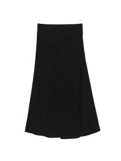 Midi skirt black - Midi skirt black XS
