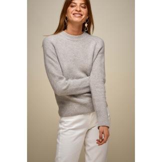 Raglan box sweater - Raglan box sweater S light grey mel
