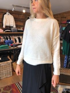 Biagio sweater, flera färger finns - Biagio sweater Soft White XS