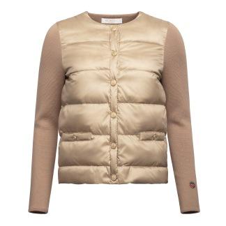 Iva down jacket camel - Iva down jacket black 40