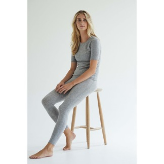 PANEL LEGGINGS cashmere - PANEL LEGGINGS grey M