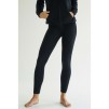 PANEL LEGGINGS cashmere - PANEL LEGGINGS black L