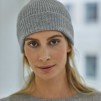 Cap rib - Rib cap light grey mel