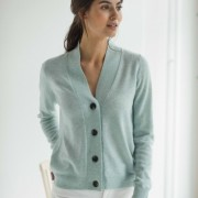 V-NECK BUTTONS CARDIGAN