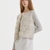 Inella down jacket - Inella down jacket sand 42