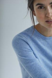 Basic sweater dusty blue - Basic sweater dusty blue  S