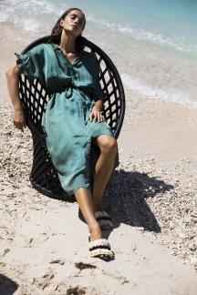 Jasmine dress - Jasmine dress emerald M