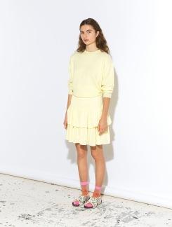 Lucent Eval Skirt - Lucent Eval Skirt gul S