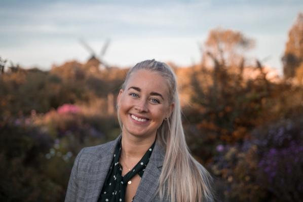 Victoria Särvegård, stressrågivare